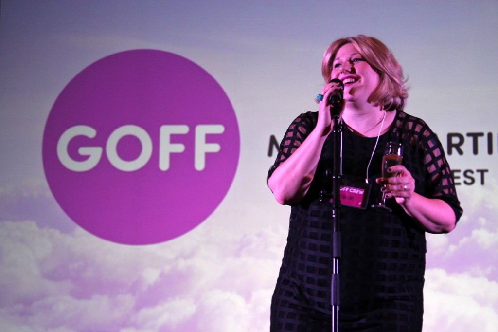 Festival director Karen Pickering