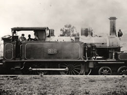 Locomotive at Deepdene c1920