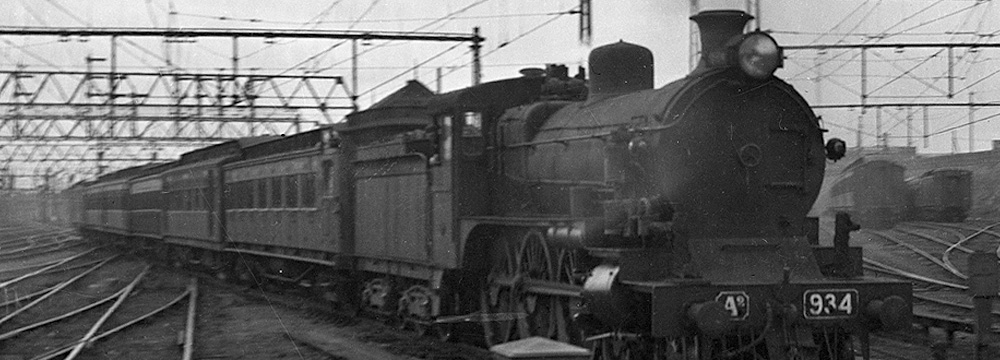 A2-class locomotive at Spencer Street. Melbourne