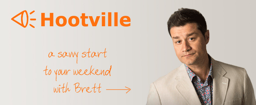 Hootville. Freshly squeezed radio, Saturdays 10am on MyMP.