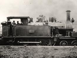 Locomotive at Deepdene c1920